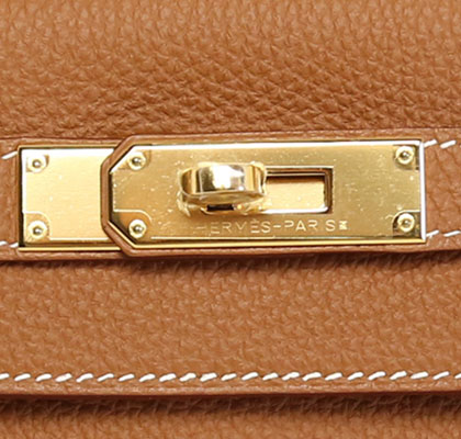 Hermes Kelly Gold 28cm Togo with Gold Hardware