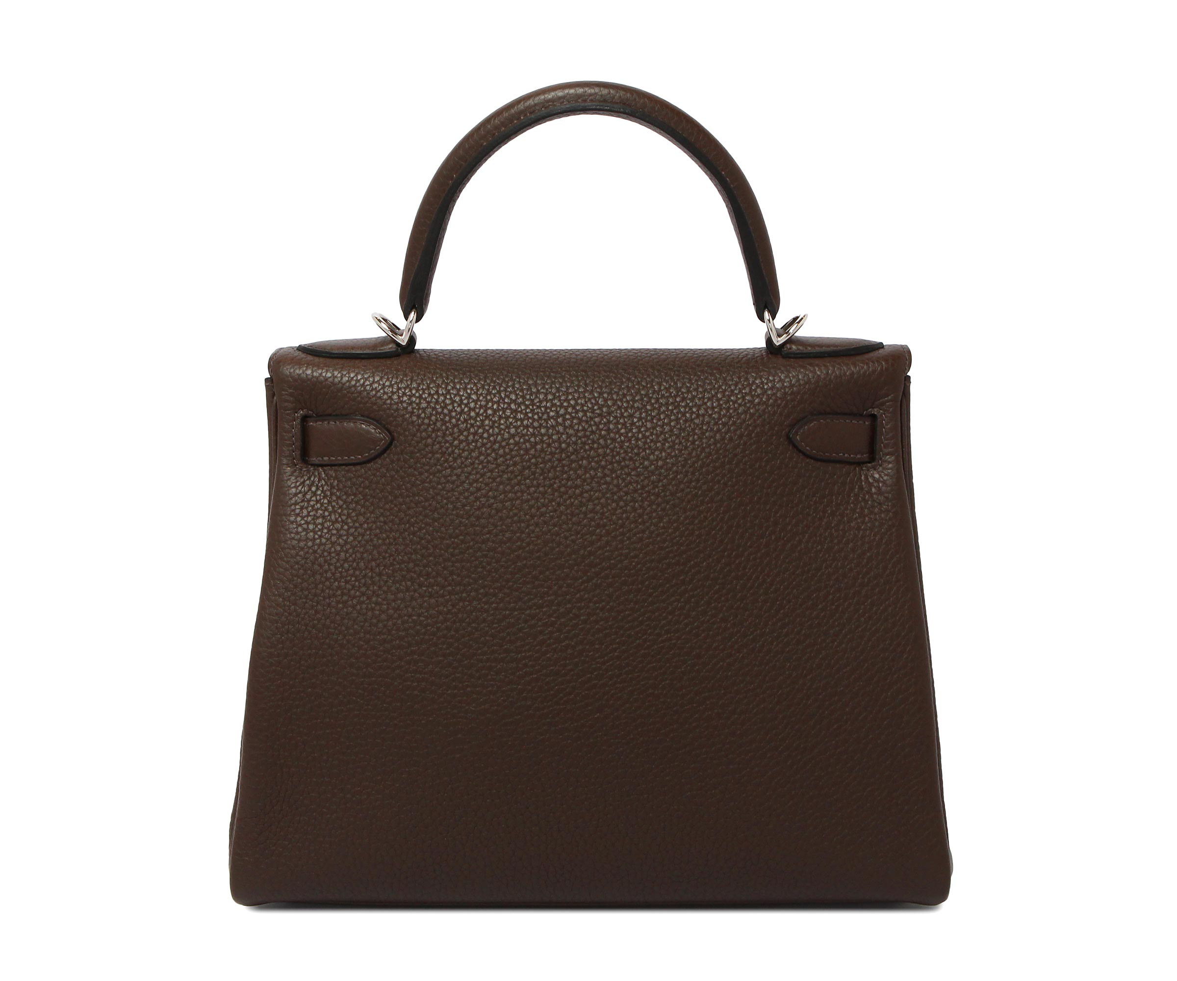 Hermes Kelly Café Clemence with Palladium