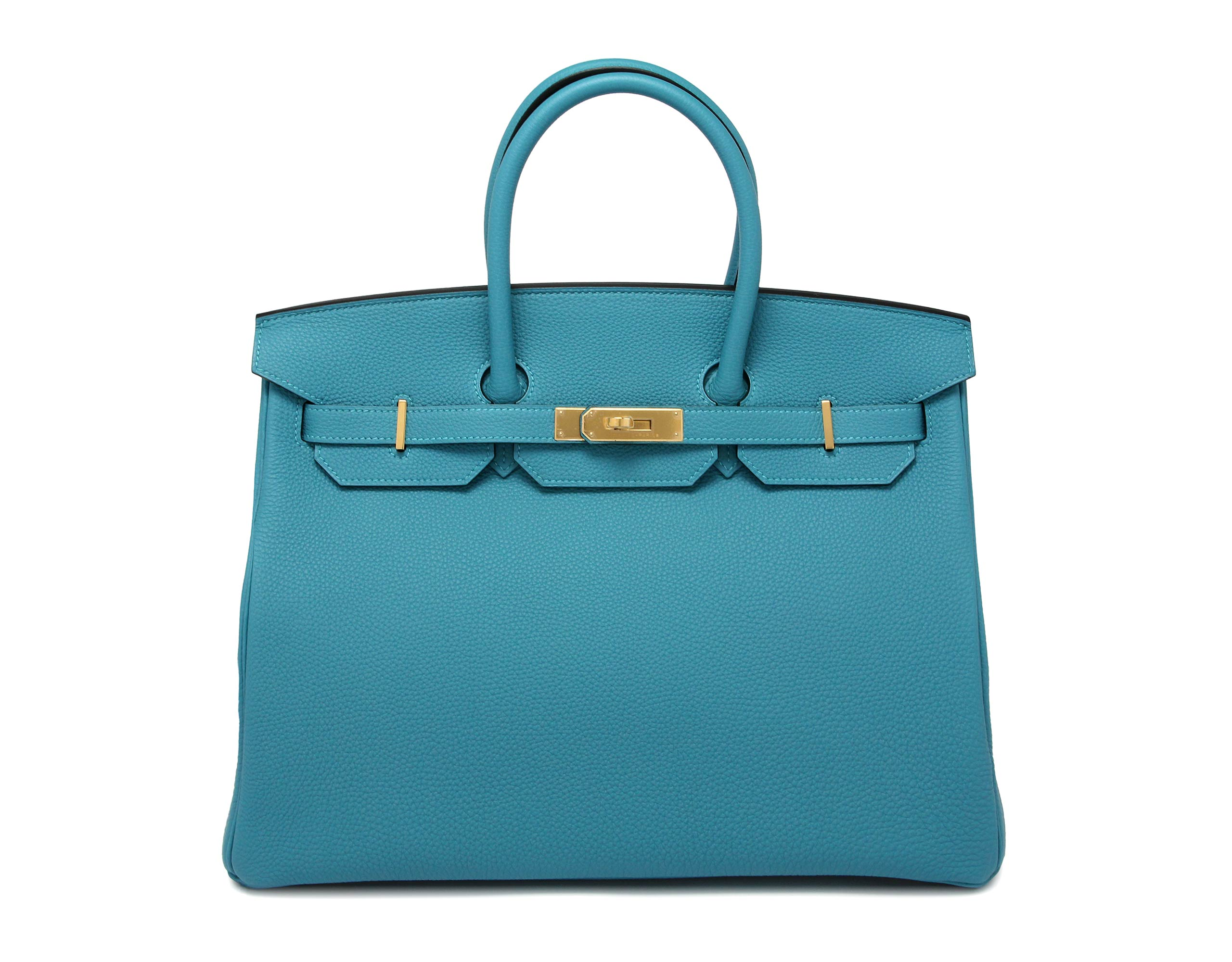 Hermes Birkin Turquoise Togo with Gold