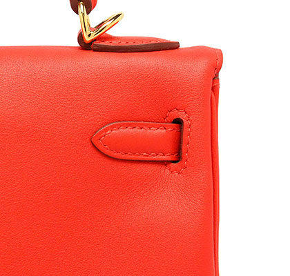 Hermes Kelly Capucine Swift with Gold