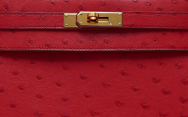 hermes Kelly Rouge Red Ostrich