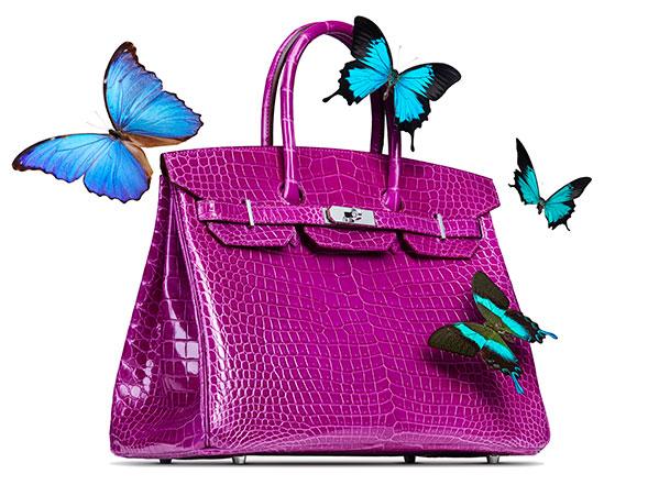 Hot Pink Hermes Birkin Handbag