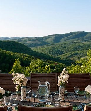 Tuscan Travels with Bags of Luxury