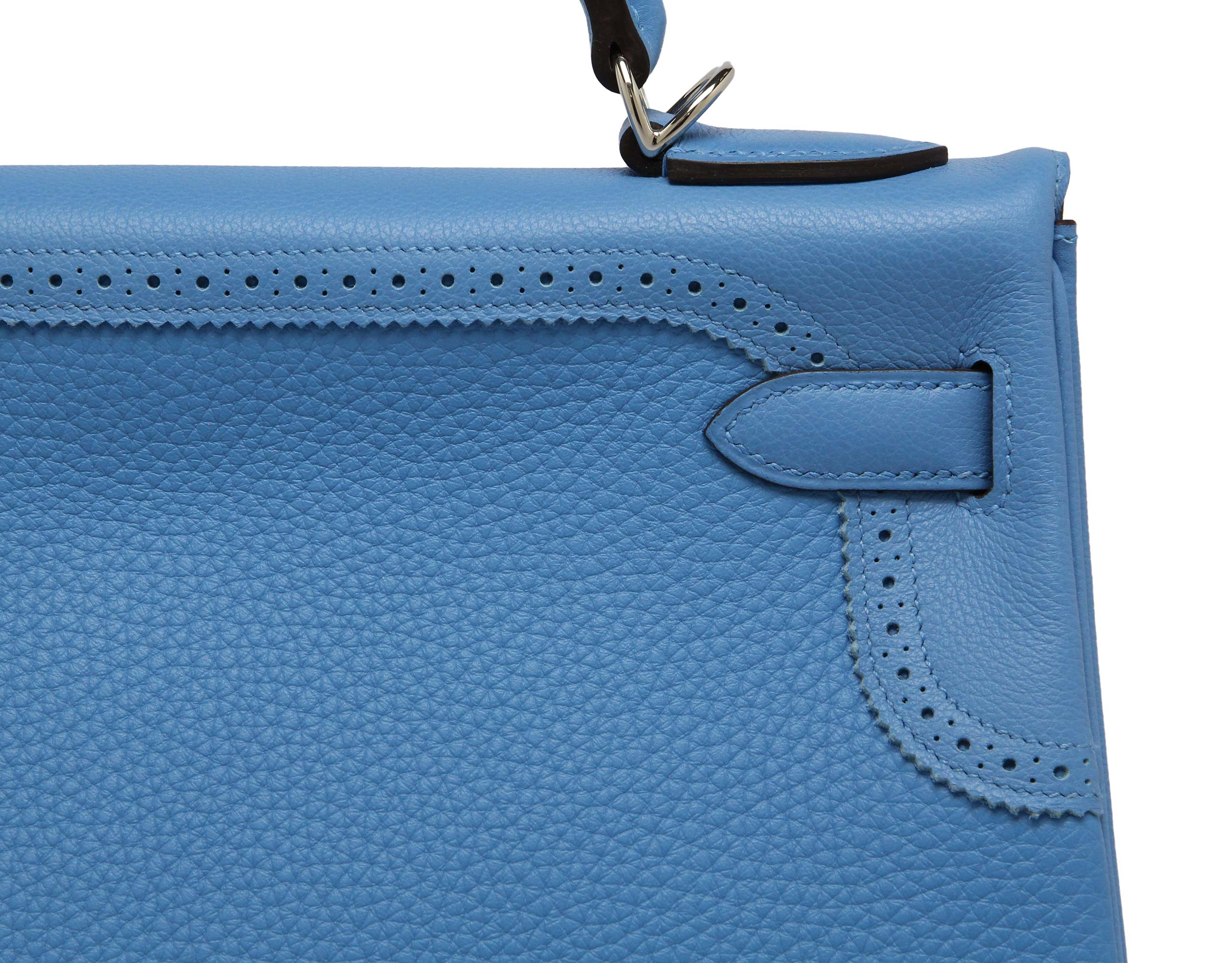 Kelly 32cm Ghillie Blue Paradise Clemence & Swift with Palladium